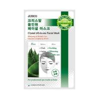 Deoproce - купить Маска тканевая c алое Mijin Junico Crystal All-in-one Facial Mask Aloe, 24 мл на Deoprocemarket.ru